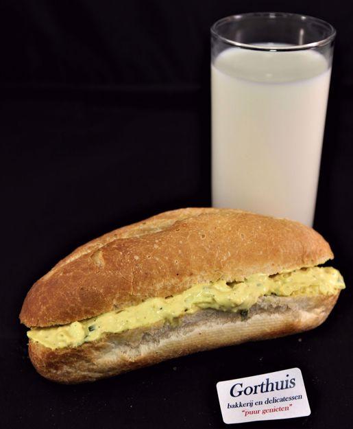 Afbeelding van Broodjes met salade