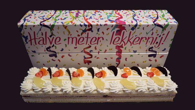 Afbeelding van Halve metertaart slagroom